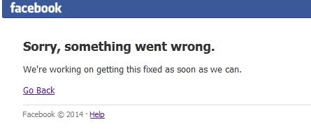 Facebook'a girilemiyor nedeni nedir FacebookÇöktü