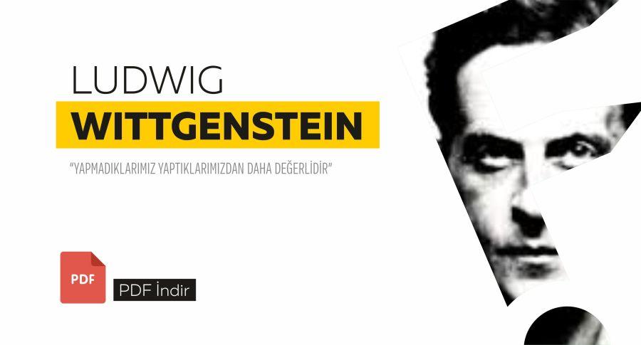 Ludwig Wittgenstein – Tractatus Logico-Philosophıcus / TürkçePdf